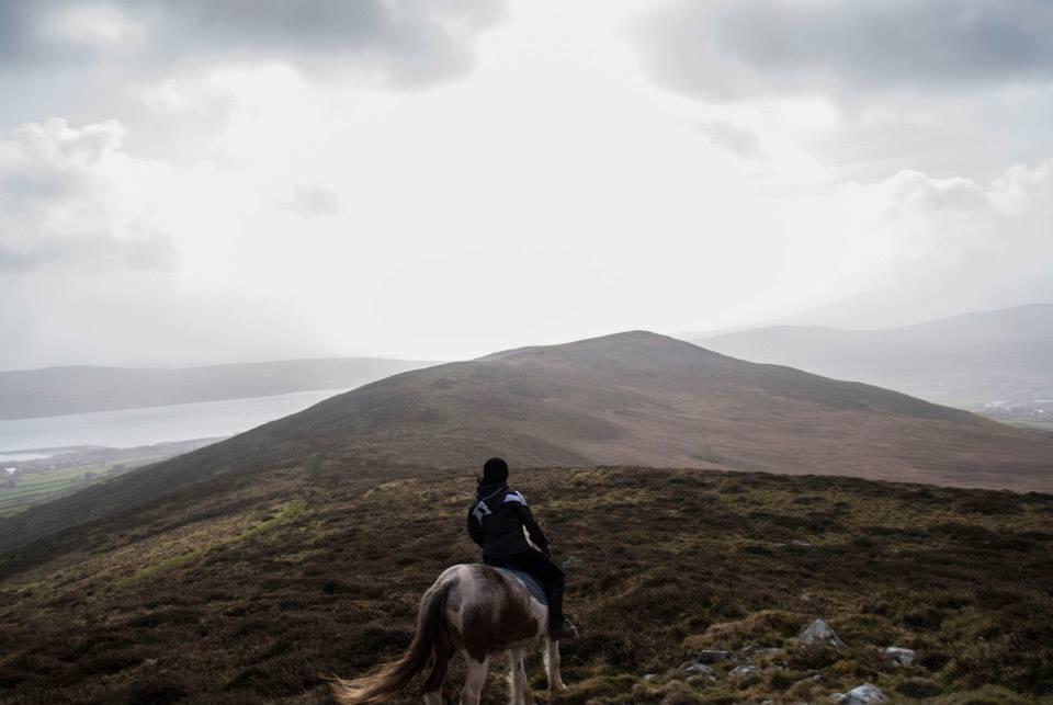 Winter Horse Treking