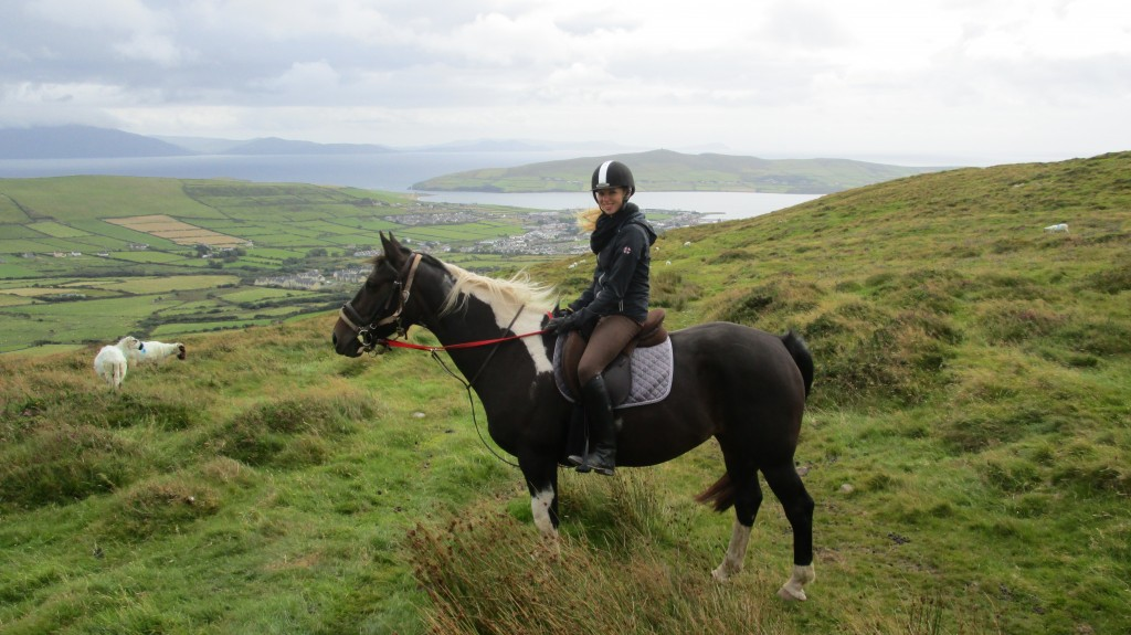 Rebecca Ude of Dingle Horseriding