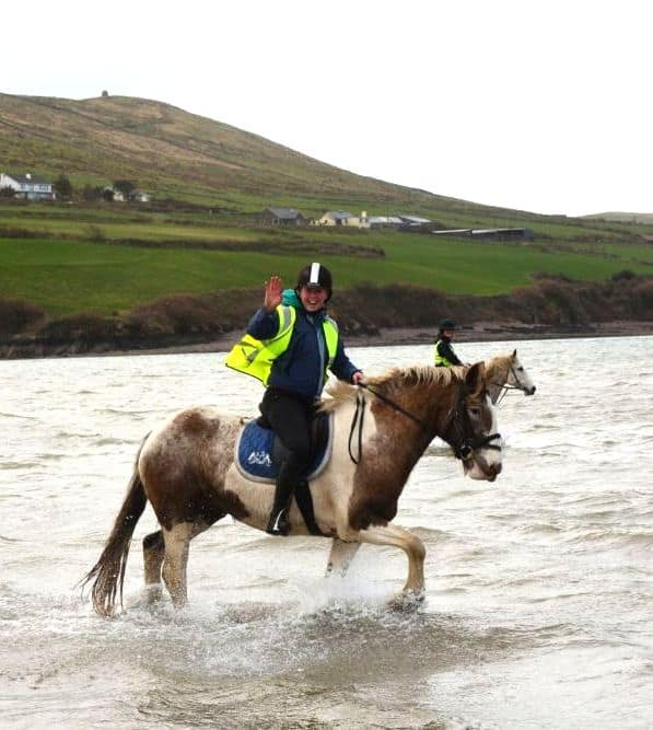 Louise Manning of Dingle Horseriding