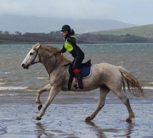 Susan Callery horse riding