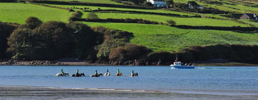 Horse Riding in Dingle Bay