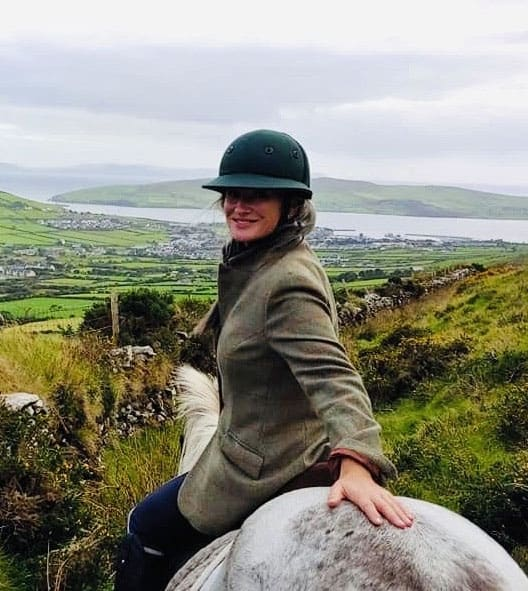 Susan Callery of Dingle Horseriding
