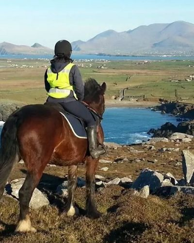 Horse ride on the Dingle Peninsula